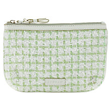 Buy Jigsaw Make-up Bag, Green Online at johnlewis.com