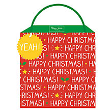 Buy Happy Jackson Happy Christmas Gift Bag, Medium, Multi Online at johnlewis.com