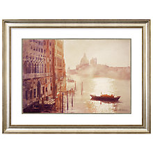 Buy Stan Kaminski - Morning Glow Venice Framed Print, 113 x 87cm Online at johnlewis.com