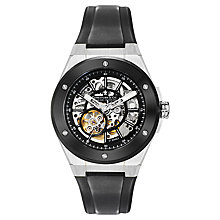 Buy Dreyfuss & Co DGS00115/04 Men's Skeleton Dial Automatic Watch, Black Online at johnlewis.com