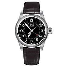 Buy Oris 754-7679-4064-LS Men's Big Crown Pointer Date Watch, Black Online at johnlewis.com