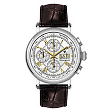 Buy Dreyfuss & Co Men's Valjoux Automatic Chronograph Leather Strap Watch Online at johnlewis.com