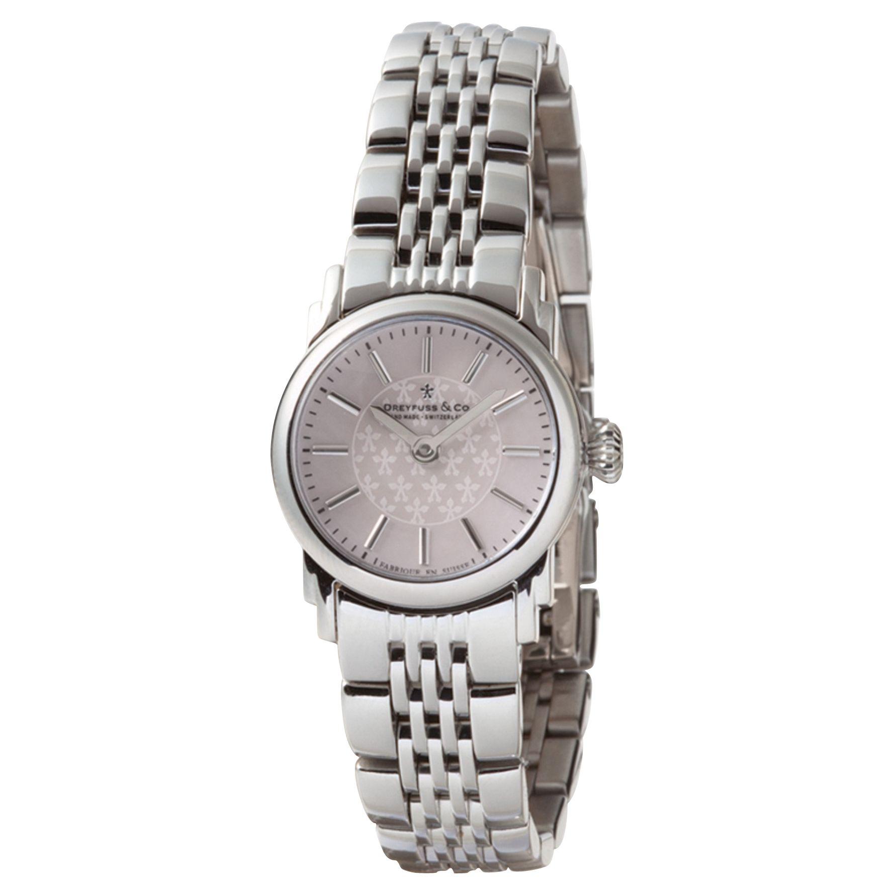 Dreyfuss & Co Dreyfuss & Co Women's Mother Of Pearl Dial Bracelet Strap Watch