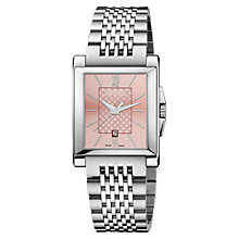 Buy Gucci Women's G-Timeless Rectangle Dial Bracelet Strap Watch Online at johnlewis.com