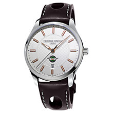 Buy Frédérique Constant FC-303HV5B6 Men's Vintage Rally Healey Steel Automatic Watch, Brown Online at johnlewis.com