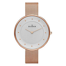 Buy Skagen SKW2140 Women's Klassik Mesh Strap Watch Online at johnlewis.com