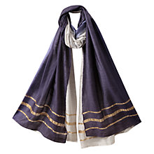 Buy East Ombre Scarf, Indigo Online at johnlewis.com