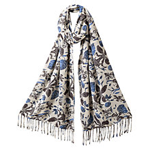Buy East Abida Sister Scarf, Ocean Online at johnlewis.com