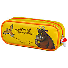 Buy Gruffalo Fabric Pencil Case Online at johnlewis.com