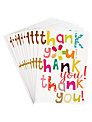 Caroline Gardner Thank You Thank You Note Cards, Pack of 10
