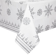 Buy John Lewis Snowflake Table Cover Online at johnlewis.com