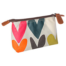 Buy Caroline Gardner Hearts Small Cosmetic Bag Online at johnlewis.com