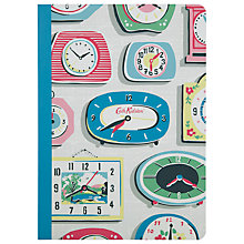 Buy Cath Kidston Clocks A5 Notebook, Multi Online at johnlewis.com
