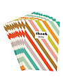Caroline Gardner Thank You Stripe Notecards, Pack of 10