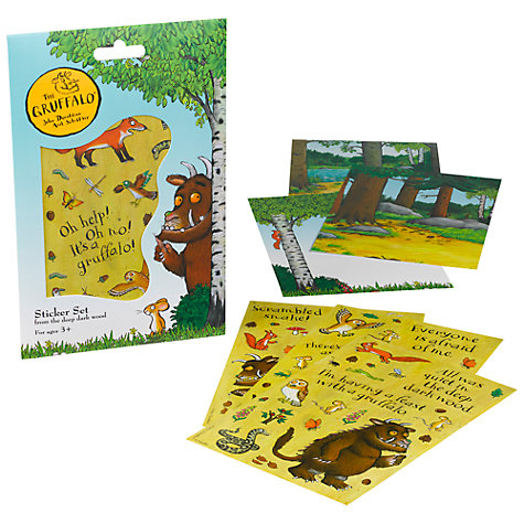 Buy Gruffalo Sticker Set Online at johnlewis.com