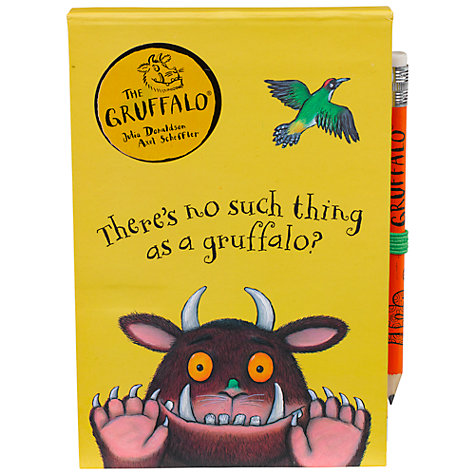 Buy Gruffalo Notebook & Pencil Online at johnlewis.com