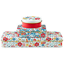 Buy Cath Kidston Clifton Rose Tins, Set of 3, Multi Online at johnlewis.com