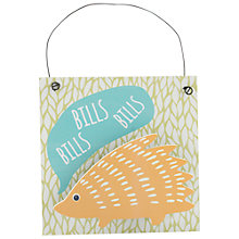 Buy Container Group Hedgehog Bills Hanger Online at johnlewis.com