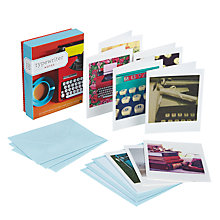 Buy Chronicle Books Typewriter Note Cards, Set of 20 Online at johnlewis.com