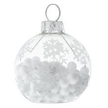 Buy Neviti Snowflake Place Card Holder, Pack of 6 Online at johnlewis.com