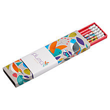 Buy Pluma Print Pencil Set, Pack of 6 Online at johnlewis.com