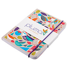Buy Pluma Print Notebook, Multi Online at johnlewis.com