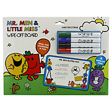 Buy Mr Men White Board Online at johnlewis.com