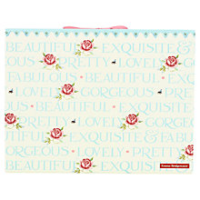 Buy Emma Bridgewater Rose & Bee Expander File, Multi Online at johnlewis.com