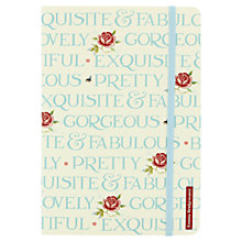 Buy Emma Bridgewater Rose & Bee A5 Notebook, Multi Online at johnlewis.com