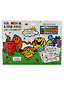 Mr Men Giant Colouring Set