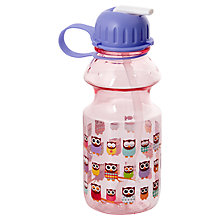 Buy Give A Hoot Drinks Bottle, Purple Online at johnlewis.com