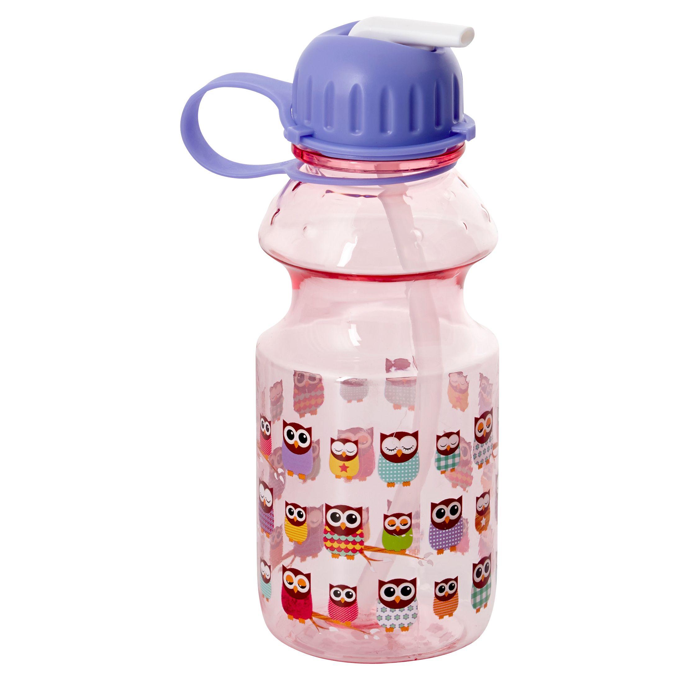 Give A Hoot Drinks Bottle, Purple