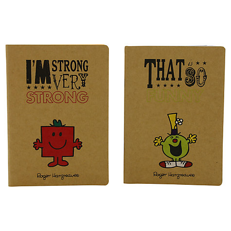 Buy Mr Men Retro Exercise Book, Pack of 2 Online at johnlewis.com