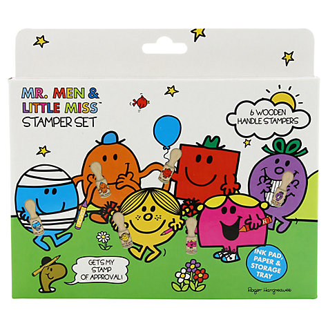Buy Mr Men Stamp Kit Online at johnlewis.com