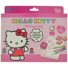 Buy Hello Kitty Stamp Set Online at johnlewis.com