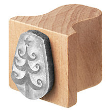 Buy English Stamp Company Christmas Tree Stamp Online at johnlewis.com