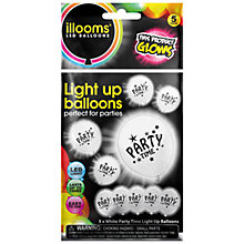 Buy Illoom Party Time Balloons, Pack of 5, Multi Online at johnlewis.com