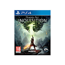 Buy Dragon Age Inquisition, PS4 Online at johnlewis.com