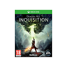 Buy Dragon Age Inquisition, Xbox One Online at johnlewis.com