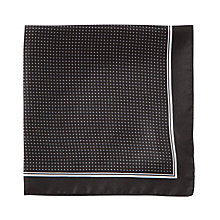 Buy BOSS Polka Dot Silk Pocket Square Online at johnlewis.com