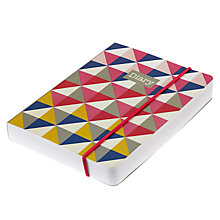 Buy Go Stationery Geometric Perfect Bound Diary Online at johnlewis.com