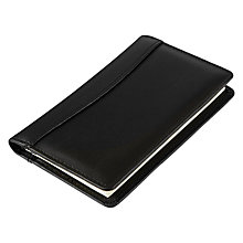 Buy Collins Elite Pocket Diary, Black Online at johnlewis.com