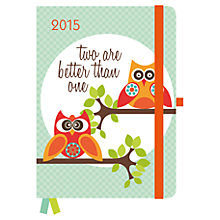 Buy Valentina Ramos Greenline Owl Diary, 2015 Online at johnlewis.com
