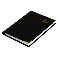Buy Collins Business Pocket Regal Diary, Black Online at johnlewis.com