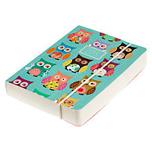 Buy Go Stationery Owl Diary, Teal Online at johnlewis.com