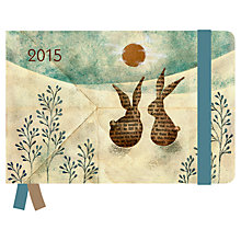 Buy Naoko Rabbit Greenline Diary, 2015 Online at johnlewis.com