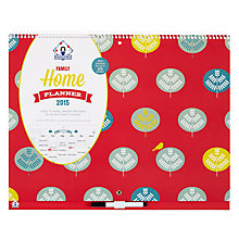 Buy Organised Mum Family Home Planner, Multi Online at johnlewis.com