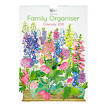 Buy Te Neues RHS Family Organiser Month to View 2015 Calendar Online at johnlewis.com