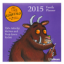 Buy Gruffalo Fam Org Te Neues Planner, 2015 Online at johnlewis.com