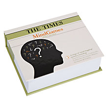 Buy The Times Mind Games 2015 Daily Calendar Online at johnlewis.com
